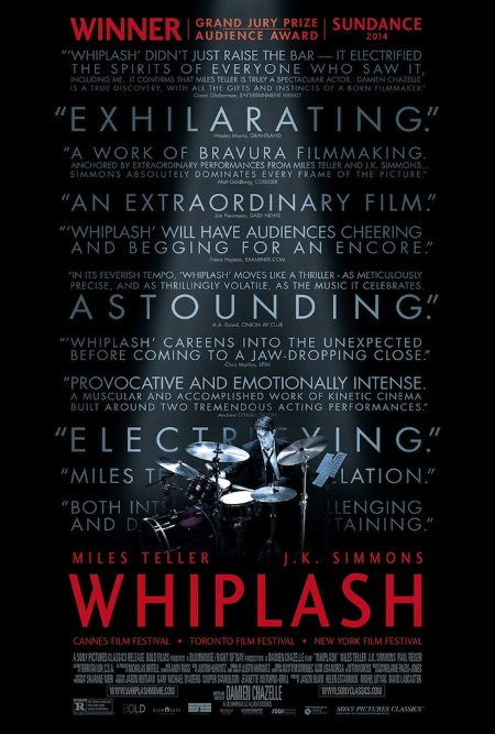 whiplash-juliste