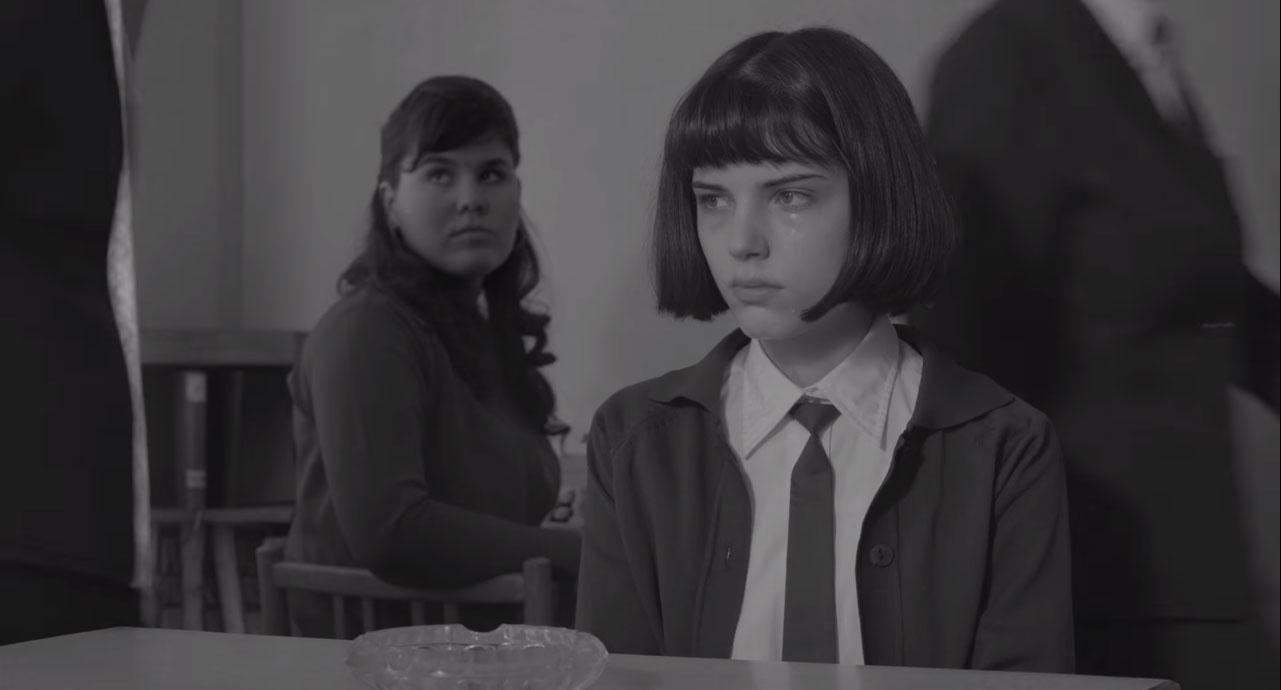 Tyypillisen pelkistetty hetki Já, Olga Hepnarovássa (2016)